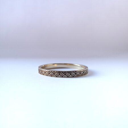 art deco, trouwring, neede, borculo, juwelier, eibergen, hangemaakt